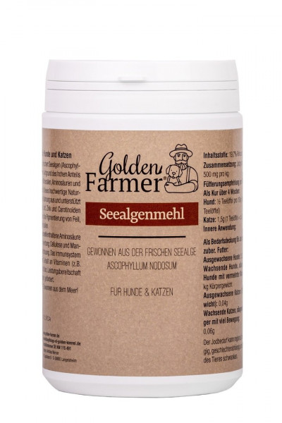 Golden Farmer Seealgenmehl 750ml